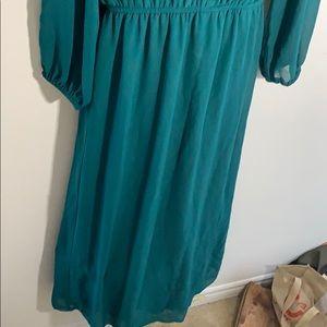 Enfocus Studio Dresses - Emerald green maxi dress